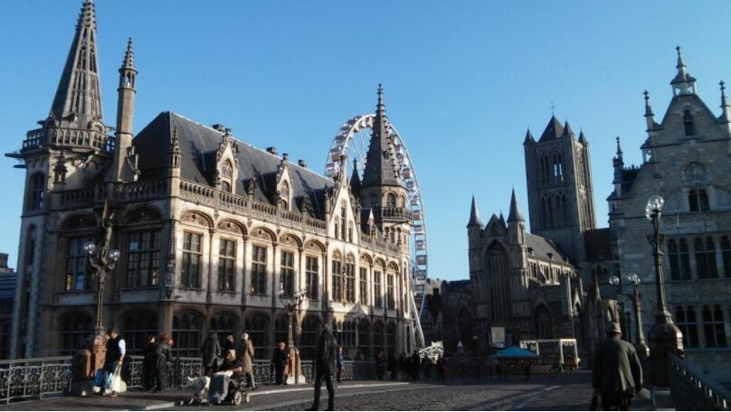 Best cities to study in Belgium Ghent