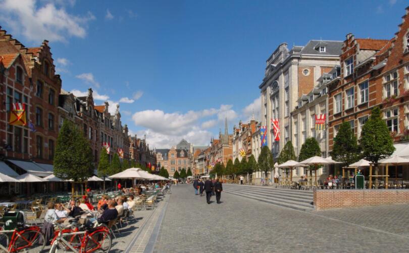 Best cities to study in Belgium Leuven