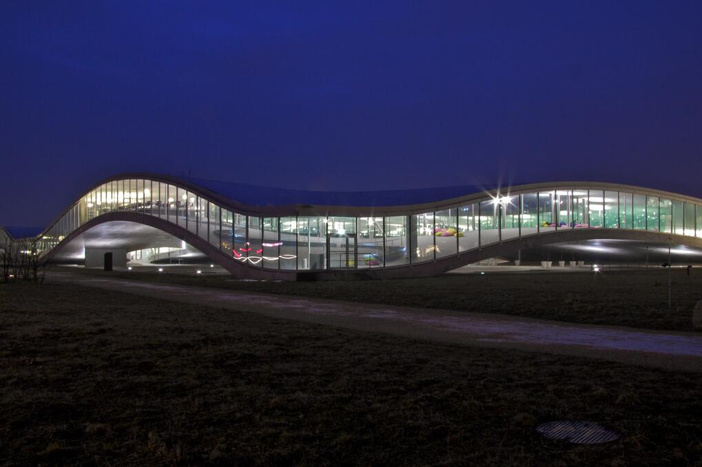 Rolex Learning Center EPFL central library