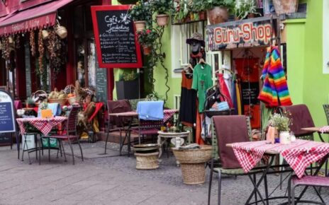 Shops and cafes in Kreuzberg