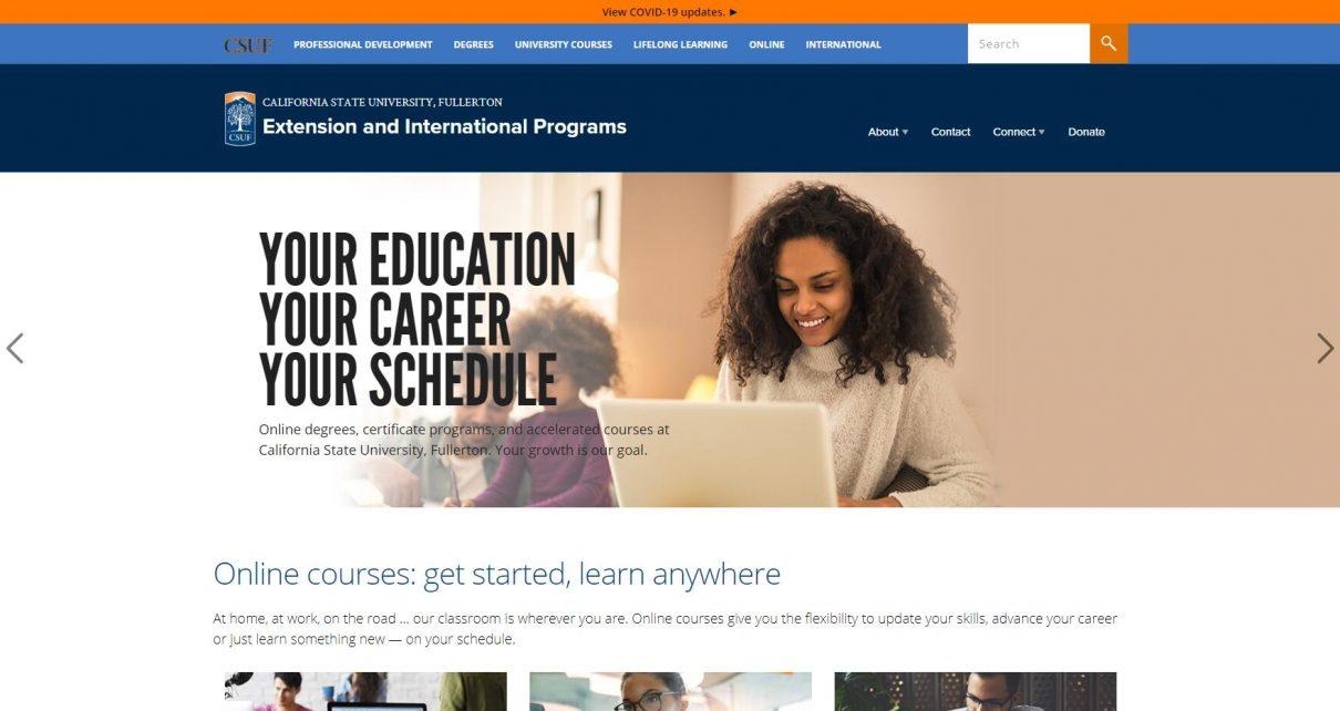 CSU Fullerton Extension and International Programs