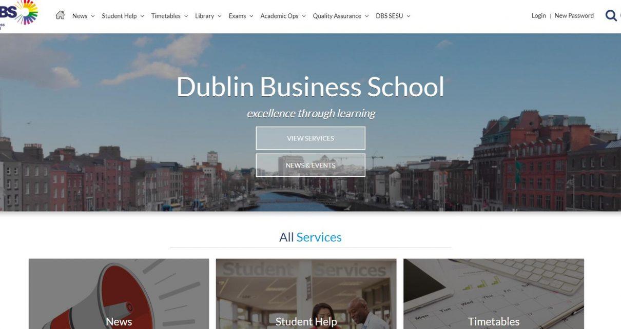 DBS Students Website