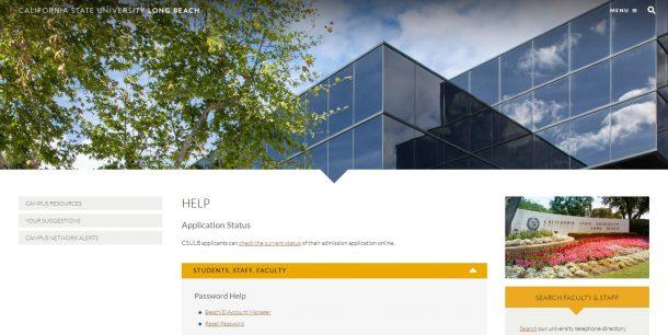 Help - California State University, Long Beach