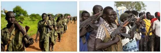 Conflicts within South Sudan 2
