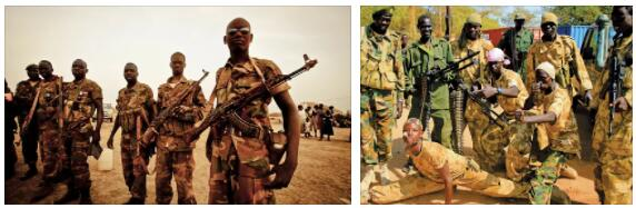 Conflicts within South Sudan 4