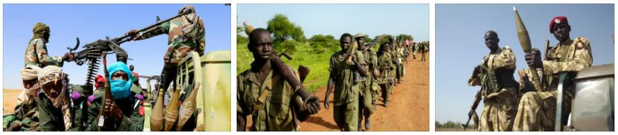 Conflicts within Sudan 4