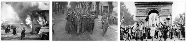 The End of the Second World War in Europe in 1945